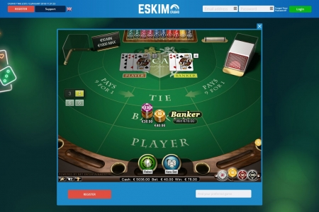 Eskimo Casino screenshot